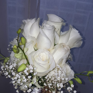 Roses and Orchids for the Bride
