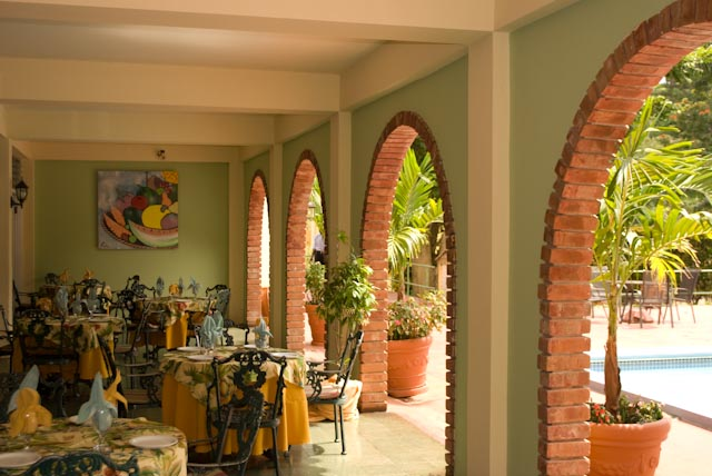 The Arches Restaurant The Mandeville Hotel Jamaica
