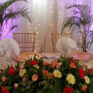 Table for Mr & Mrs